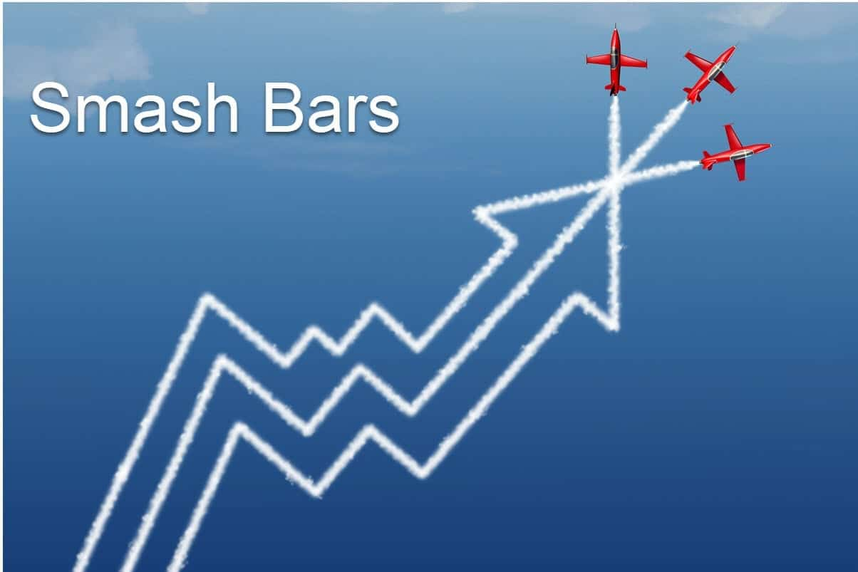 Smash bars for trading